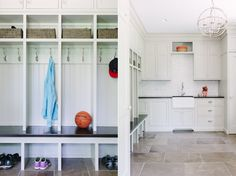 Mudroom cubbies Mudroom Cubbies, Mud Rooms, Dream Decor, Room Inspiration, Laundry Room, Entryway, Kitchen, Blog, Furniture