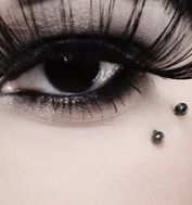 butterfly kiss anti-brow piercing (my personal favorite)