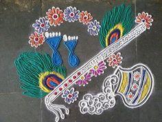 Latest Rangoli Design Diwali 2016
