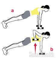 Экспресс-тренировка для спины Women's Health