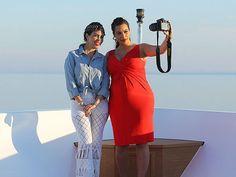 Kardashian-Jenner Family Vacation Photos Through the Years Mykonos Island, Kim K Style, Jenner Family, Kardashian Jenner, Over The Years, How To Memorize Things, Glamour, Formal Dresses, Fashion