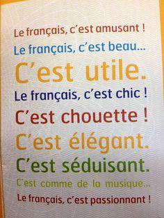 Et pour vous, le français c'est quoi?