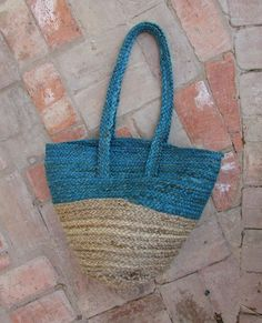 A collection of timeless hand-dyed indigo colour clothing, accessories and textiles for everyday wear. Crafted with eco-friendly and sustainable beliefs. Jute Tote Bags, Denim Tote Bags, Uk Fashion, Ethical Fashion, The Beach People, Indigo Colour, Summer Collection, Straw Bag, Sustainable Living