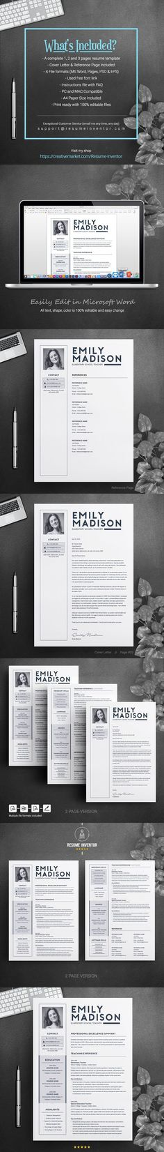 Resume Template Google Docs Resume Design Pinterest Google