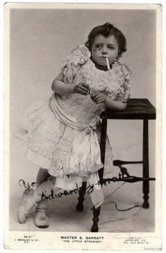 """""""Violet had fallen in with the wrong crowd...."""" This little guy in a dress is one of my favorite Pinterest discoveries."""