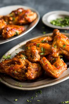 My last post for today because they make me too hungry, lol...Sticky Fish Sauce Chicken Wings