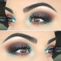 @oodrea used @mannymua733 x @makeupgeekcosmetics and the Electric palette by @urbandecaycosmetics  __________________________________________________  #morphebrushes #makeupforever #vegasnay #toofaced #maccosmetics #wakeupandmakeup #motd #blendthatshit #dressyourface #prettypaintedfaces #InstaMakeup  #universodamaquiagem_oficial #anastasiabeverlyhills #brows #glamoursociety #undiscovered_muas  #mua #worldwidemua  #slave2beauty #MakeupMafia  #wingedliner #makeup #letstalkmakeup #eotd…