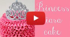 How To Make This Adorable Princess Ruffle Cake