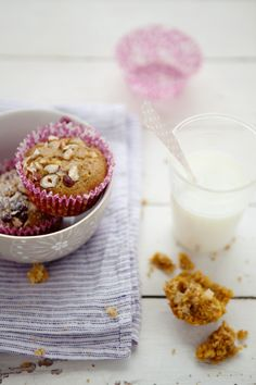canelle et vanille - food & drink - food - dessert - gluten and dairy free butternut squash, apple and hazelnut muffins with quinoa, coconut milk and hazelnuts (recipe)