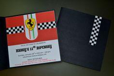 {Ferrari Party} | CatchMyParty.com