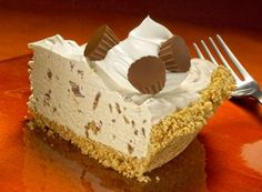 You can do your own variation of this, I've done a few myself, but it's easy, and *so* delicious!!  - HERSHEY'S | I Love Peanut Butter Pie