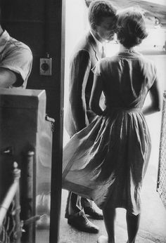 brandywarhol:    Jackie and John F. Kennedy, 1950s