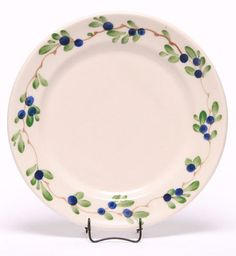 """Emerson Creek Pottery These ceramic salad plates are the perfect compliment to your Emerson dinnerware set. They measure 7"""" in diameter. Handmade and hand-crafted in Virginia, all Emerson Creek Potter"""