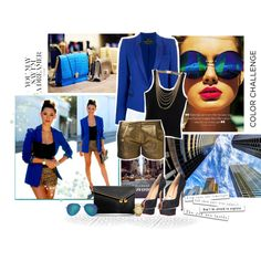 Blue/Short, created by lorniux on Polyvore