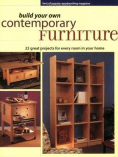 This title presents 20 original contemporary furniture projects, hand-picked from America's Popular Woodworking magazine. Each one comes with step-by-step instructions, high-quality diagrams, cuttings lists, colour photographs and detailed, easy-to-follow assembly techniques.