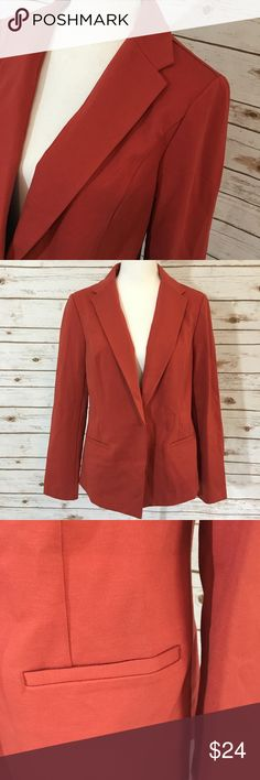 Anne Klein Rust Colored Wear to Work Blazer NWT. However, it is missing a button so it is at a greatly reduced price. Anne Klein brand. Rust colored Blazer. Women's size medium. No flaws aside from the lost button. Anne Klein Jackets & Coats Blazers