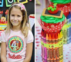 DIY Crayon Cupcake Holder