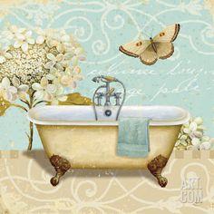 Light Breeze Bath I Print by Daphne Brissonnet at eu.art.com