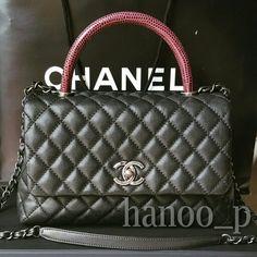Chanel coco handle 15B small 10.5
