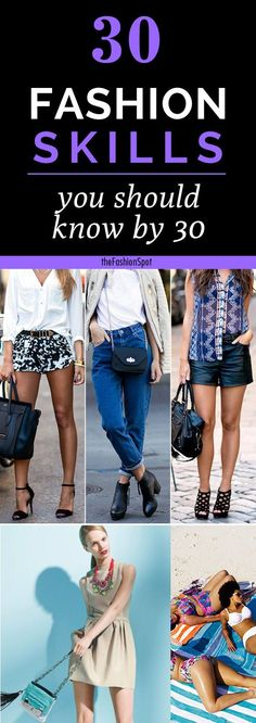 30 fashion tips and tricks every woman should like by 30 #FashionTips