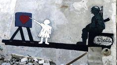 Grafitti by Abu Malik al-Shami