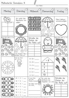 malen nach zahlen multiplizieren und dividieren matheaufgaben f r die 2 klasse mathematik. Black Bedroom Furniture Sets. Home Design Ideas