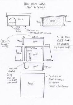 Hedgehog house plan - build a hedgehog house in your garden. Here's how https://littlesilverhedgehog.wordpress.com/2016/01/26/build-a-hedgehog-house/