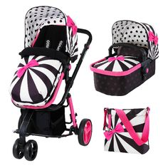 Compact Giggle 2 Golightly 2 travel system's got the lot from day dot. It's a 2-way pushchair, pram and car seat carrier with snug stuff for your little one.