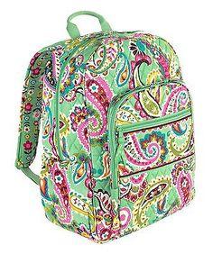 NWT VERA BRADLEY Tutti Frutti Campus Backpack Book school bag $109