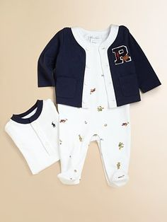 Can't wait to see my new baby in this cute Ralph Lauren outfit!
