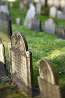 How to Clean a Headstone (WATER, if you don't have it don't clean it then)