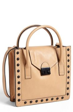 Loeffler Randall 'Junior' Leather Work Tote, Medium available at #Nordstrom