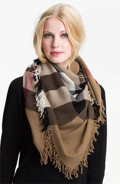 Free shipping and returns on Burberry Check Merino Wool Scarf at Nordstrom.com. Extra-fine merino wool lends unmistakable style to a lush scarf that's both lightweight and cozy.