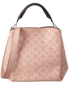 Louis Vuitton Magnolia Mahina Leather Babylone PM
