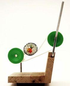 Insolite : La machine à sushi maison - photo