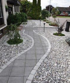 71 Beautiful Gravel Garden Design Ideas For Side Yard And Backyard – Diy Garden Side Yard Landscaping, Landscaping Tips, Gravel Garden, Garden Paths, Garden Hedges, Diy Jardin, Back Gardens, Amazing Gardens, Landscape Design