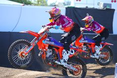 Shane McElrath and Jessy Nelson - Photo Blast: Red Bull Straight Rhythm - Motocross Pictures