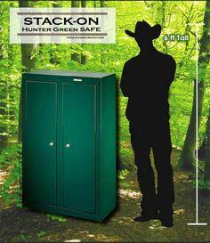 Stack On Security 10 Gun Double Door Security Cabinet