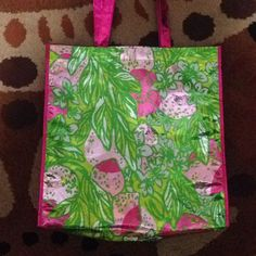 Make An Offer Lilly Pulitzer Grocery Tote