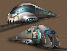 Futuristic Train, The Maglev Technological Revolution