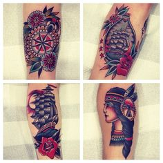 Instagram photo by @kirk_jones via ink361.com #tattoo #traditionaltattoos