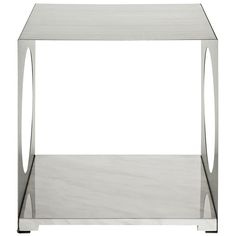 Modway Furniture Modern Stainless Steel and Artificial Marble Base Surpass Side Table #design #homedesign #modern #modernfurniture #design4u #interiordesign #interiordesigner #furniture #furnituredesign #minimalism #minimal #minimalfurniture
