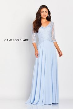 Mother of the Bride Dresses from Mon Cheri brands, Ivonne D, Cameron Blake, Montage and Social Occasions, are flattering for all body types - plus size and petite alike. Mothers Dresses, Bride Dresses, Wedding Dresses, Gown Wedding, Wedding Blog, Lace Wedding, Cameron Blake, Mon Cheri Bridal, Mother Of The Bride Gown