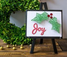 String Art Joy Board – My First Product in a Store