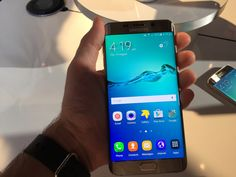 The Galaxy S6 Edge+ Is Samsung's Answer To The iPhone 6 Plus | TechCrunch