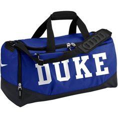 Duke Blue Devils Nike Duke Blue Medium Training Duffle Bag