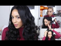 How to Use / Style 360 Lace Frontal Wig | GRWM Fawless LUVME Virgin Hair