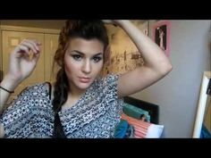 Easy Homecoming Hairstyle - Mohawk Braid!! this is amazing and i will use it for homecoming!