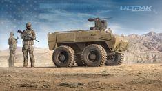 RCV_ROBOTIC COMBAT VEHICLE on Behance Military Gear, Military Weapons, Military Equipment, Military Army, Army Vehicles, Armored Vehicles, Futuristic Cars, Futuristic Vehicles, Uav Drone