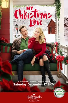 """Its a Wonderful Movie - Your Guide to Family Movies on TV: 'My Christmas Love' - a Hallmark Channel Original """"Countdown to Christmas"""" Movie starring Meredith Hagner, Bobby Campo, Megan Park, Aaron O'Connell, & Gregory Harrison!"""